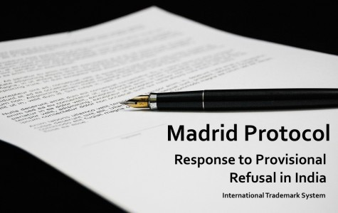 Response to Provisional Refusal in India, Madrid Protocol, International Trademark