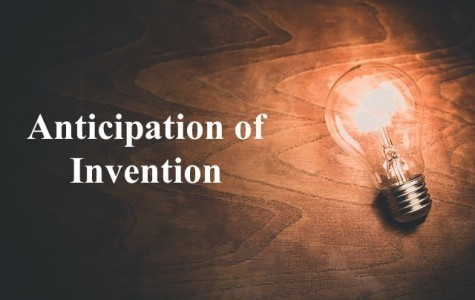 Anticipation of Invention, Anticipation Invention