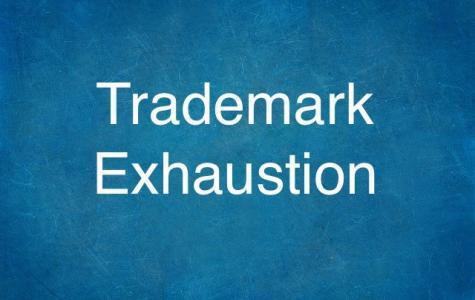 Trademark Exhaustion