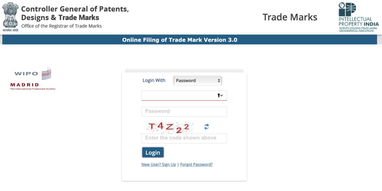 Online Trademark Registration India: E-Filing of Trademark India